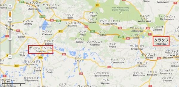 Oswiencim_map